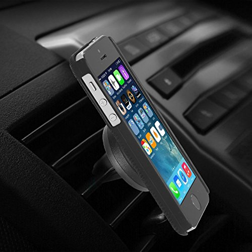"""lovely Iphone Car Holder, eLander™ Universal Smartphone Air Vent Car Mount Holder with 360°Rotate, Tilt Swivel for iPhone Samsung and Other Smartphones up to 5.5"""" screen"""