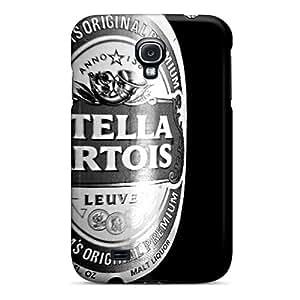 Samsung Galaxy S4 Iel19687hFED Support Personal Customs Realistic Stella Artois Skin Anti-Scratch Hard Phone Cover -CharlesPoirier