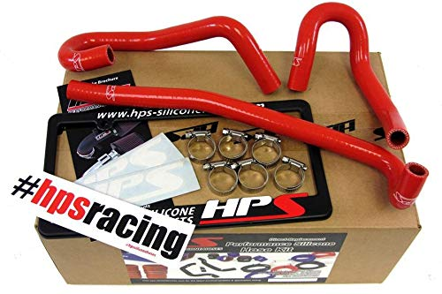 HPS 57-1340-RED Red Silicone Heater Hose Kit Coolant