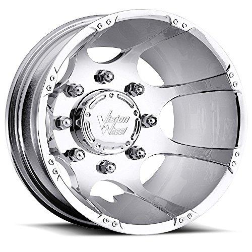 VISION 715 Crazy Eight Chrome Rear Wheel with Chrome Fini...