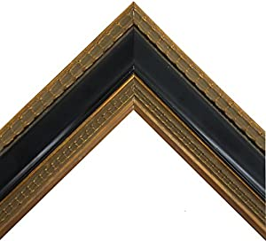Amazon.com - Ornate Vintage Black and Gold Wooden Picture