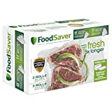 "Kitchen & Housewares : FoodSaver 8"" & 11"" Rolls with unique multi layer construction, BPA free, Multi-Pack"