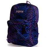 JanSport Superbreak Backpack (Black/Prism Purple Flashback...