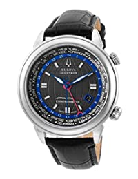 Accutron by Bulova Men's Sir Richard Branson Limited Edition Automatic GMT Chronometer