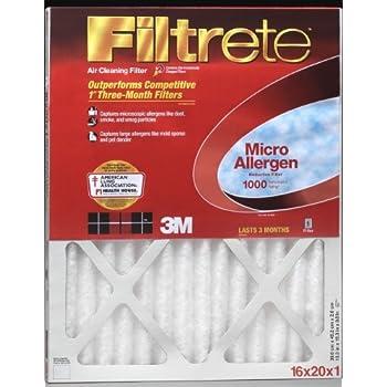 20x20x1 Filtrete Micro Allergen Air Filter Merv 11 By