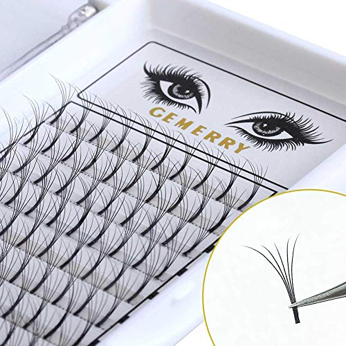 1972dcc51bd GEMERRY 0.7mm Volume Lash Extensions, C Curl 8-14mm Mix 5D Eyelash  Extensions