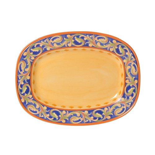 (Pfaltzgraff Villa Della Luna Rectangular Serving Platter, 12-Inch)