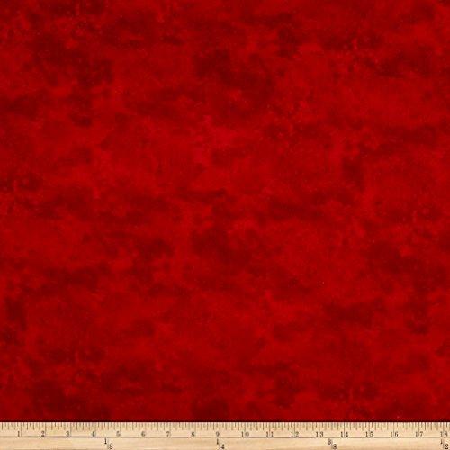 Fabric Flannel Northcott (Northcott Toscana Flannel Basics, Cardinal)