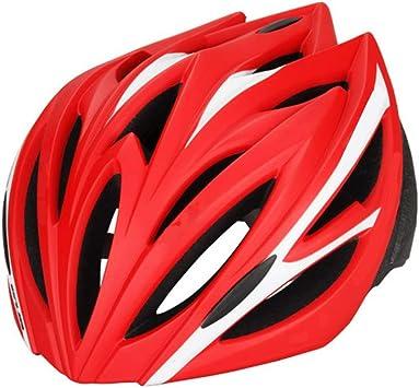LXZC Casco de Bicicleta Hombres MTB Casco para Las Mujeres 55-61CM ...