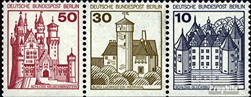 - Berlin (West) W64 1977 Fortresses and Castles (Stamps for Collectors)