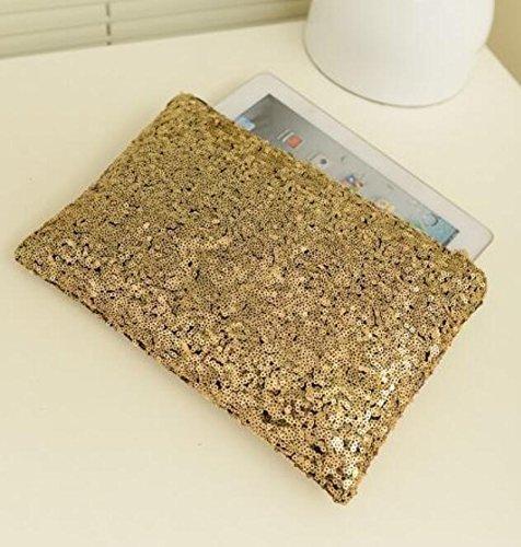 Evening Sequinned Luxury Bag Bag Glittering Whyyudan Purse Hand Clutch Party axdHwRZqB