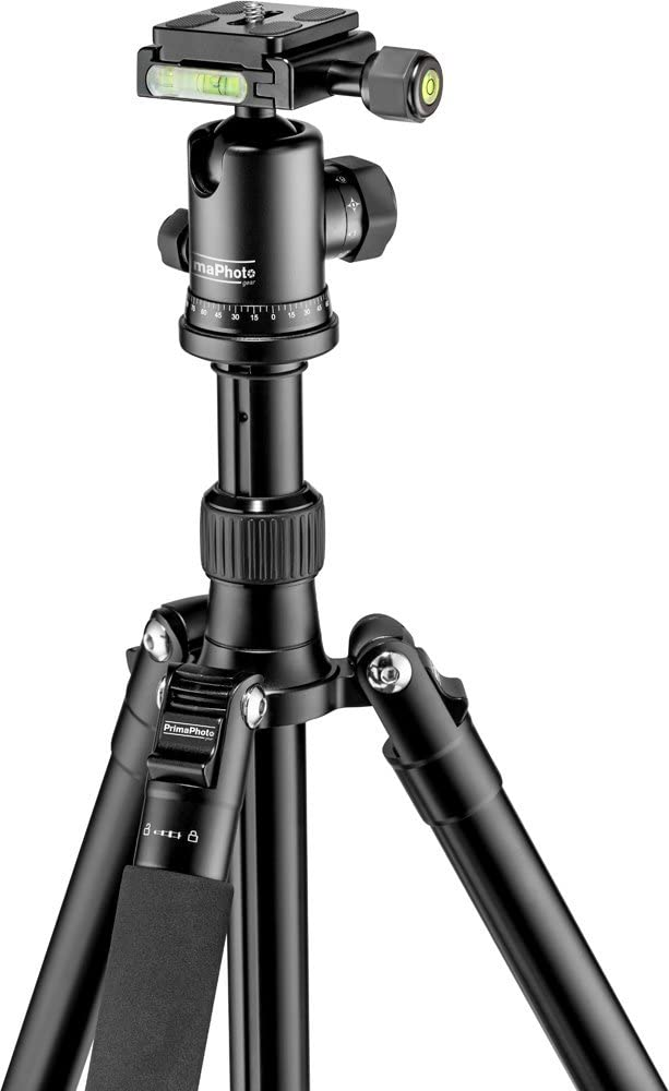 PrimaPhoto PHTRBRD Gear Traveler Big Tripod Red