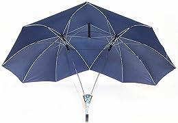 Scopri un regalo veramente divertente ed originale…ed anche utile! L'ombrello doppio! Indispensabile per i gemelli siamesi, è l'ombrello perfetto per un San Valentino a prova di pioggia! Mai più insopportabilmente lontani sotto l'acquazzone!