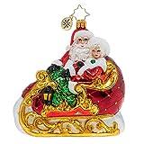 Christopher Radko Date Night Christmas Ornament, Multicolor