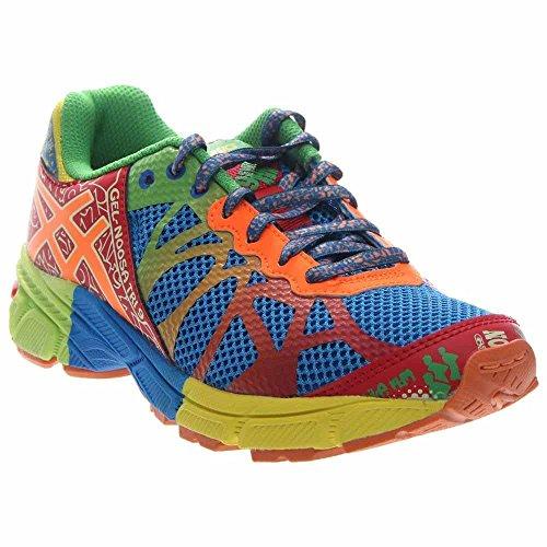 ASICS Gel-Noosa Tri 9 GS Running Shoe (Infant/Toddler/Little kid/Big Kid),Royal/Flash Orange/Flash Yellow,6 M US Big - 9 Noosa