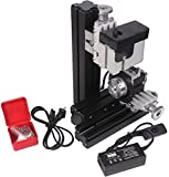 Zowaysoon Mini Aluminum Metal Indexing Machine Drilling Attachment Drilling Machine With Dividing Plate for DIY Woodworking