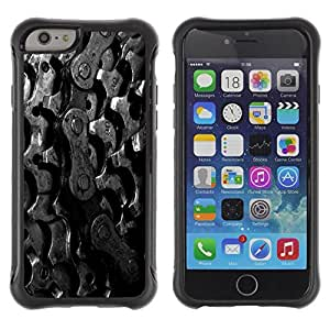 Suave TPU GEL Carcasa Funda Silicona Blando Estuche Caso de protección (para) Apple Iphone 6 PLUS 5.5 / CECELL Phone case / / Sprockets Bike Chain /