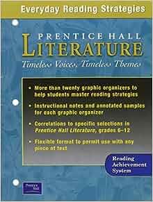 prentice hall literature grade 8 pdf