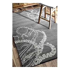 51RsIjRmiLL._SS300_ 50+ Octopus Rugs and Octopus Area Rugs
