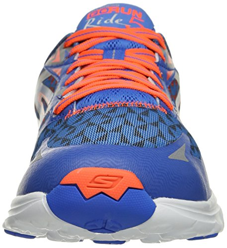 SkechersGo Run Ride 5 - Zapatillas de running hombre Blue/Orange