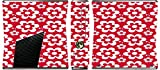 Fun Flowers Pattern Bold Xbox 360 Slim (2010) Vinyl Decal Sticker Skin by Debbie's Designs