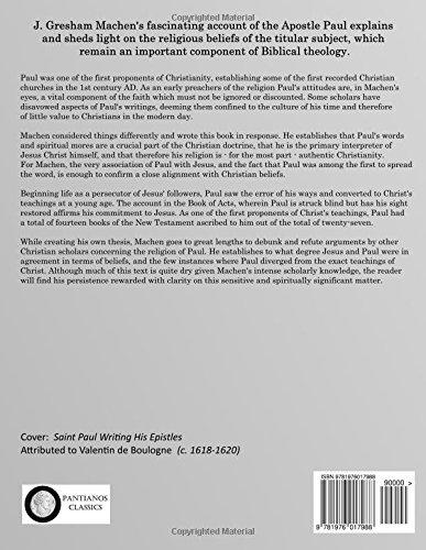 Amazon.com: The Origin of Pauls Religion (9781976017988): J ...