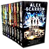 Time Riders Collection By Alex Scarrow 9 Books Set Pack (TimeRiders)