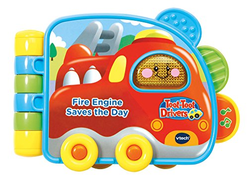 """""""Toot-Toot Drivers Fire Engine Book Toy - Vtech 502003"""
