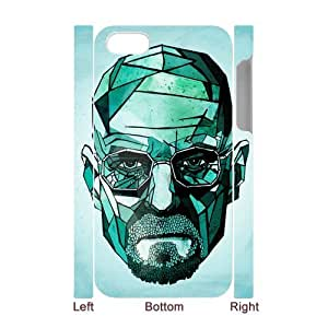 I-Cu-Le Diy hard Case Breaking Bad customized 3D case For Iphone 4/4s