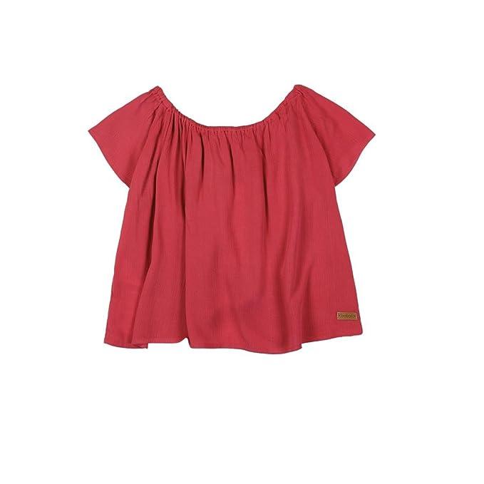 boboli 435079, Blusa para Niñas, Rosa (Frambuesa), One Size (Tamaño