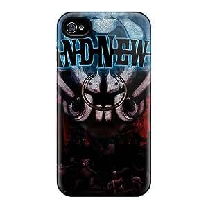 BlingCaseIn Iphone 4/4s Hard Case With Fashion Design/ HYs7959rnzt Phone Case