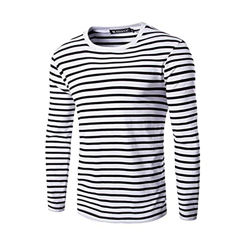 Horizontal Striped Shirt Amazon Com