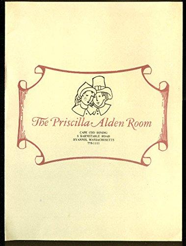 Alden Cape (Priscilla Alden Room Cape Cod Dining Menu Hyannis MA)