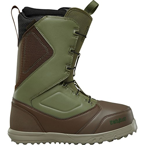 Thirty Two Zephyr Fast Track Snowboard Boot 2018 - Men's Brown/Green (Brown Mens Snowboard Boots)