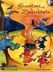 Hexentanz und Zauberkünste, für Blockflöte, m. Audio-CD