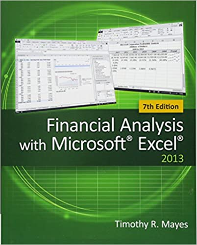 financial analysis with microsoft excel timothy r mayes