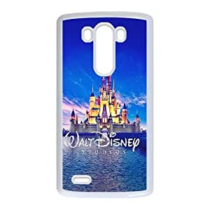 LG G3 Cell Phone Case White walt disney studios castle illust OJ653417