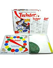 ClassicTwister Game, Floor Board Game, Sports Fun Party Game for All Ages