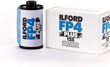 Ilford FP4 125 Blanco y Negro 35mm Fotografía de Película