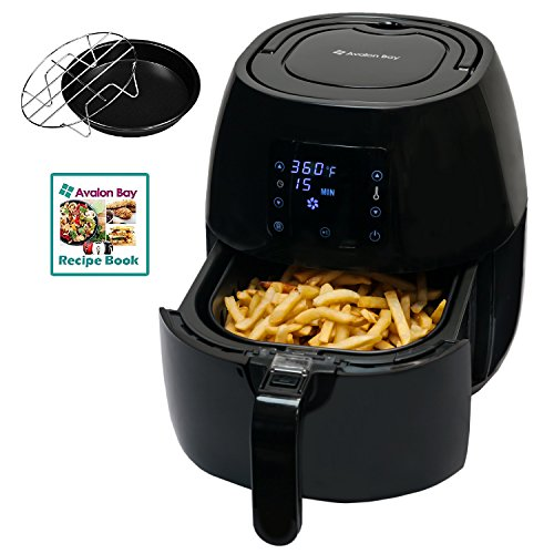 Gas Cooker Reviews (Avalon Bay Digital Air Fryer, For Healthy Fried Food, 3.7 Quart Capacity, 8 Presets, Stainless Steel Interior, AB-Airfryer230B)