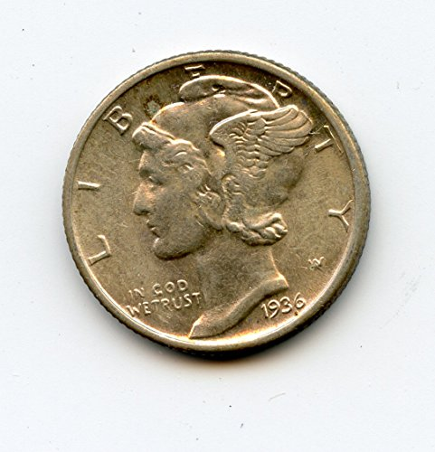 1936 Mercury Dime MS-65