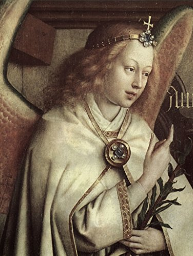 - Lais Jigsaw Jan Van Eyck - Ghent Altarpiece, Altar of The Mystical Lamb, Left Outer Wing, Middle Outer Scene: Angel of Annunciation, Detail: Face of The Angel 100 Pieces