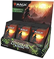 Magic: The Gathering Zendikar Rising Set Booster Box | 30 Packs (360 Cards) + 1 Box Topper | Foil in Every Pac