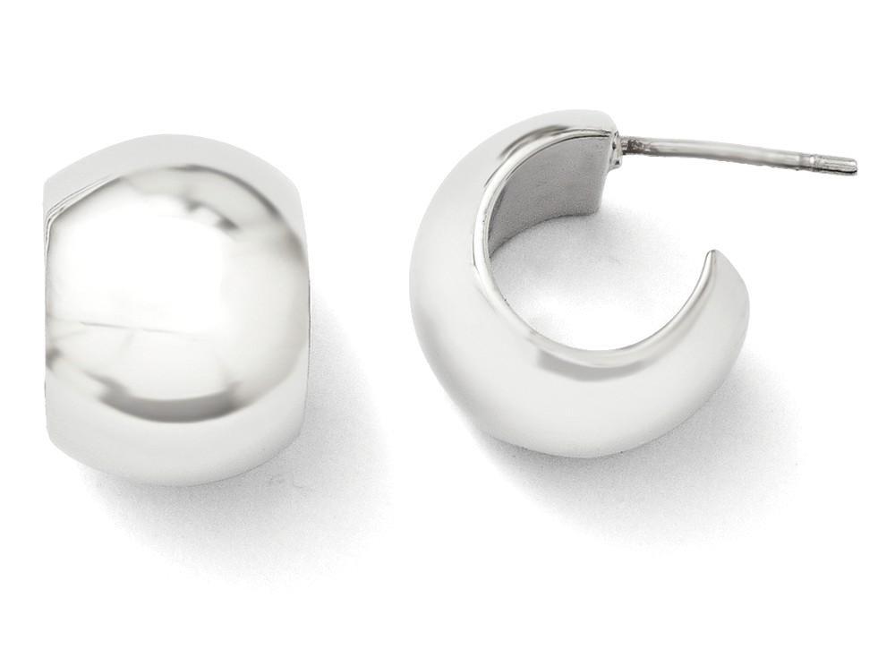ICE CARATS 925 Sterling Silver Huggy Post Stud Hoop Earrings Ear Hoops Set Fine Jewelry Gift Set For Women Heart