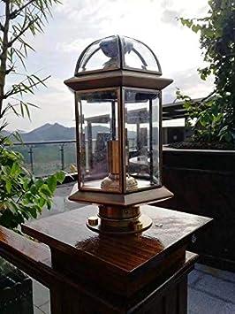 dorado acabado dorado 8 tornillos de lat/ón para espejo de 10 mm de di/ámetro con tapa decorativa