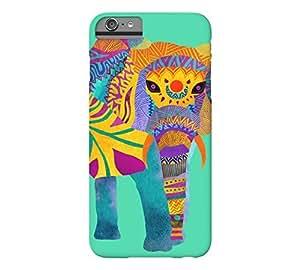 Whimsical Elephant iPhone 6 Plus Eucalyptus Barely There Phone Case