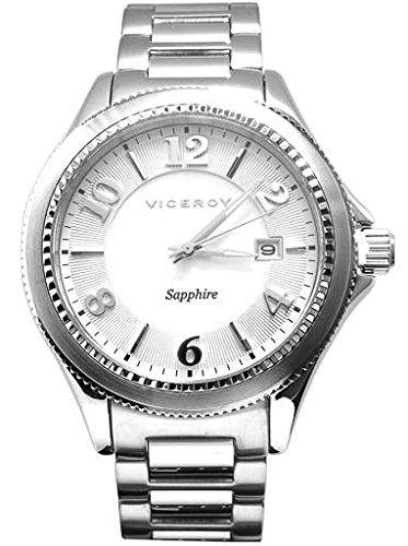 Viceroy Reloj Multiesfera para Mujer de Cuarzo con Correa en Acero Inoxidable 47887-85: Amazon.es: Relojes