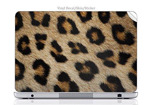 Laptop VINYL DECAL Sticker Skin Print Leopard PRINT skin (NOT ACTUAL FUR) fits Chromebook 550