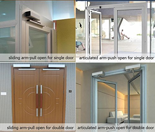 Leader automatic handicap door opener ada swing