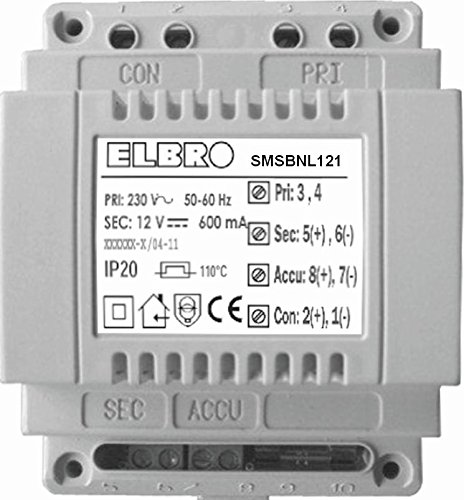 elbro smsbnl121Backup-Batterie für sms-butler